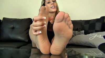 Nylon feet, Feet joi, Nylon foot