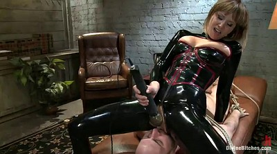 Latex, In latex, Divine, Strapon guy, Latex strapon, Femdom strapon