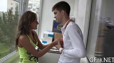 Russian teen, Amateur cuckold