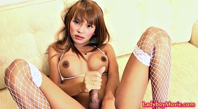 Shemale teen, Fishnet