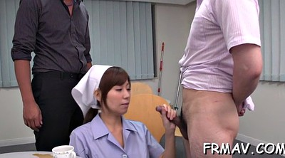 Japanese threesome, Japanese blowjob