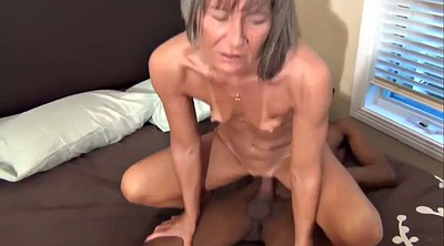 Asian granny, Interracial mature