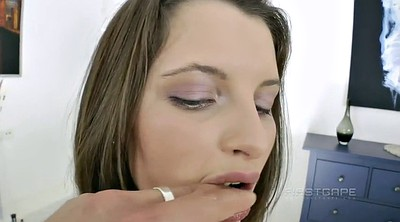 Russian, Creampie anal