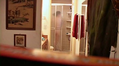 Voyeur shower, Roommate, Hidden cam shower