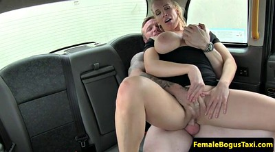 Busty, Taxi, English, Taxi driver