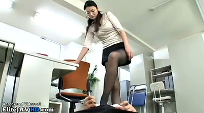 Pantyhose, Asian mature, Japanese massage, Mature pantyhose, Mature massage, Mature interracial
