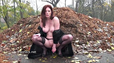 Holly, Mature solo, Public masturbation, Public solo