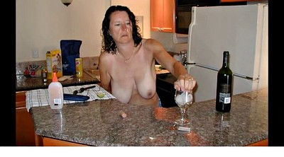 Kitchen mom, Kitchen mature, Wifes mom, Mature kitchen, Wife caught, Wife mom
