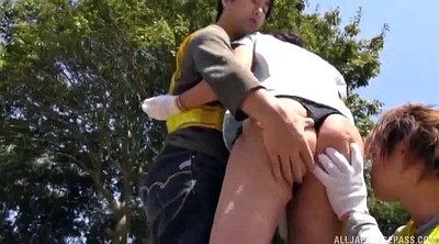 Japanese double penetration, Asian threesome, Asian milf, Asian double, Japanese outdoor, Japanese doggy