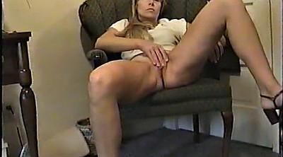 Wife orgasm, Standing