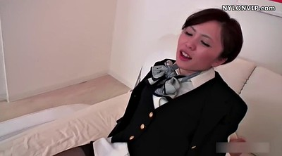 Footjob, Pantyhose, Japanese black, Nylon footjob, Nylon feet, Japanese pantyhose