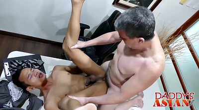 Boss, Asian gay, Asian old, Old gay, Old boss