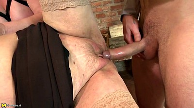 Grandma, Mature boy, Amateur mature