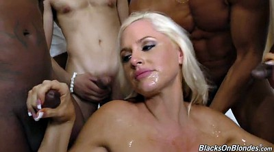 Bukkake, Blond, Alena croft