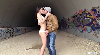 Carolina abril, Public creampie