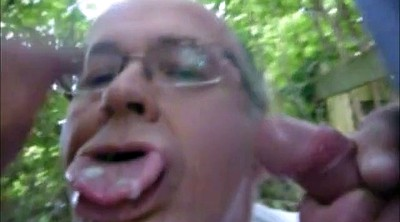 Daddy gay, Outdoor compilation, Old cum