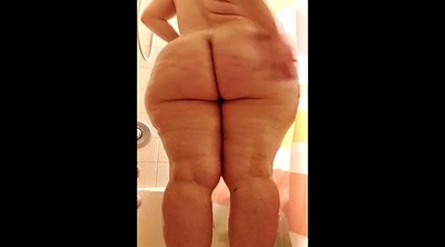 Shower, Bbw solo