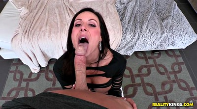 Kendra lust, On her knees blowjob