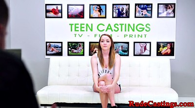 Busty redhead, Teen busty, Auditions