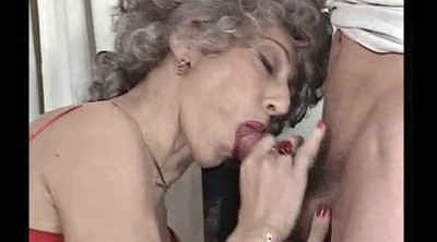 French mature, Granny anal