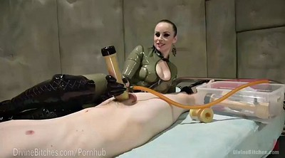 Latex, Mistress handjob