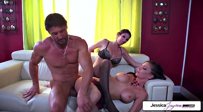 Jessica jaymes, Jessica, Tommy gunn, Huge cock threesome