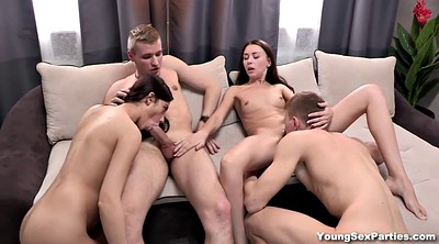 Russian, Hardcore, Young couple, Teen couple, Russian swingers, Russian couple