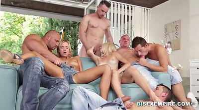 Bisexual, Czech orgy