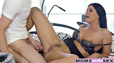 Creampie mom, Step son, Caught, Old young, Punish, Mom creampie
