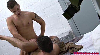 Muscle, Army, Anal boy