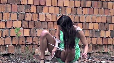 Femdom, Piss compilation, Pissing lesbian, Lesbian compilation, Interracial outdoor