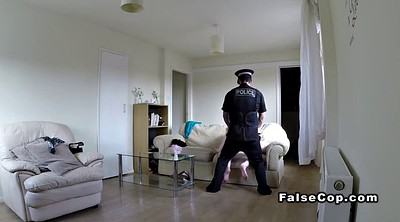 Natural busty, Fake cop