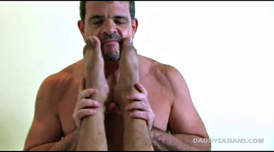 Father, Old teacher, Virginity, Old asian, Gay feet, Asian feet