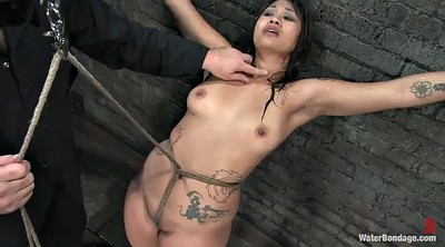 Torture, Water, Hot asian