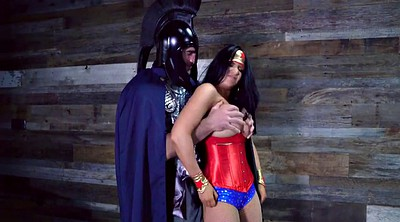 Cosplay, Wonder woman, Dirty anal