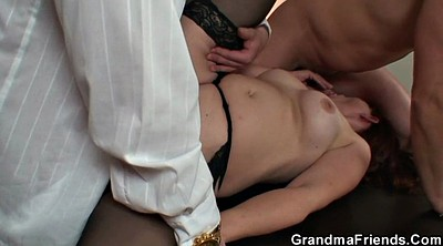 Young wife, Granny mature