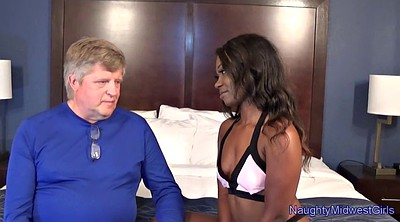 Ebony granny, Black stepdad, Teen ebony, Interracial granny