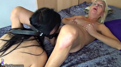 Old, Old and young, Granny masturbating, Old and young lesbian, Strapon lesbian, Older lesbian