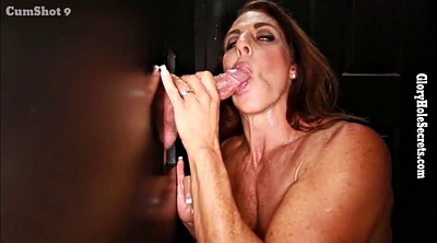 Glory hole, Cum in throat