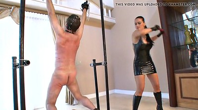 Whipping, Mistress t, Male slave, Bdsm latex, Whipped