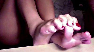Teen compilation, Teen footjob