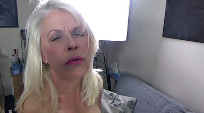 Lady, Mature masturbation, Mature lady