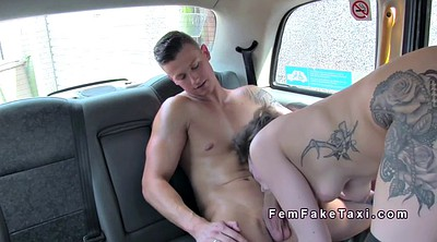 Tall, Public nudity, Female taxi, Driver