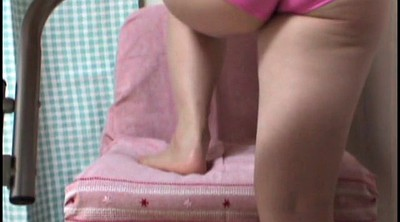 Peep, Japanese foot, Asian foot, Short, Japanese foot fetish