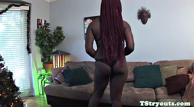 Ebony solo, Black shemale, Wanking, Solo black, Redhead solo, Chubby shemale