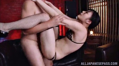 Stocking, Asian stocking, Asian gangbang, Stocking handjob