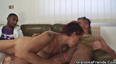 Wife threesome, Grandma, Old and young