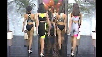 Retro, Gym, Swimsuit, Japanese show