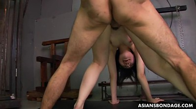 Two men, Japanese bdsm, Japanese slave, Handcuffed, Missionary creampie, Japanese double