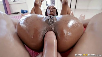 Interracial gym, Dildo ride, Piercings, Anal black, Big cock creampie, Teen dildo anal